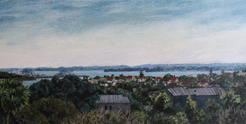View from Orakei close-up